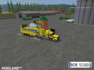 TRUCK + TRAILER YELLOW NEW HOLLAND BY BOB51160, 8 photo