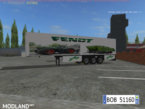 PACK 2 TRAILERS FENDT 4 IN 2 BY BOB51160, 4 photo