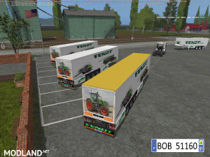 PACK 2 TRAILERS FENDT 4 IN 2 BY BOB51160, 10 photo