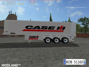 PACK 3 TRAILERS CASE IH BY BOB51160  v 1.1