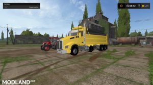 kenworthT880 dump truck pack V2 and V3