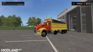 kenworthT880 dump truck pack V2 and V3, 14 photo