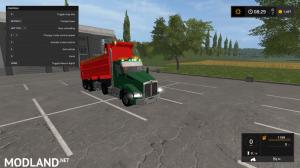 kenworthT880 dump truck pack V2 and V3, 22 photo