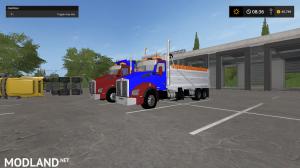 kenworthT880 dump truck pack V2 and V3, 29 photo