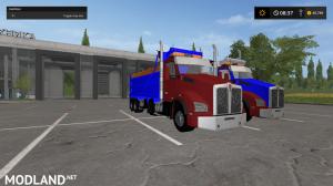 kenworthT880 dump truck pack V2 and V3, 34 photo
