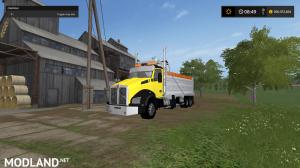 kenworthT880 dump truck pack V2 and V3, 38 photo