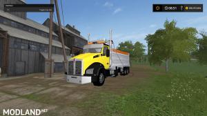 kenworthT880 dump truck pack V2 and V3, 42 photo