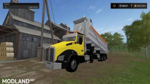 kenworthT880 dump truck pack V2 and V3, 44 photo