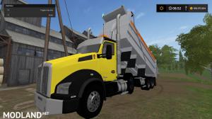 kenworthT880 dump truck pack V2 and V3, 43 photo