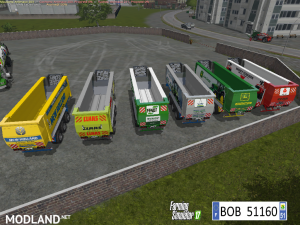 Pack 6 Trailers by BOB51160 v 1.0, 2 photo