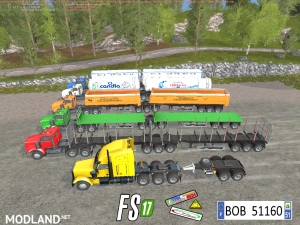 RoadTrainPack v 3.0 By BOB51160