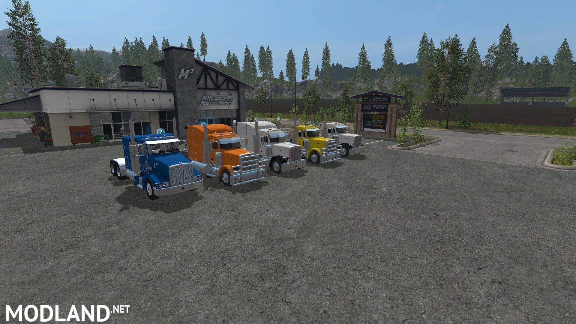 Peterbilt Pack V 1 0 Mod Farming Simulator 17