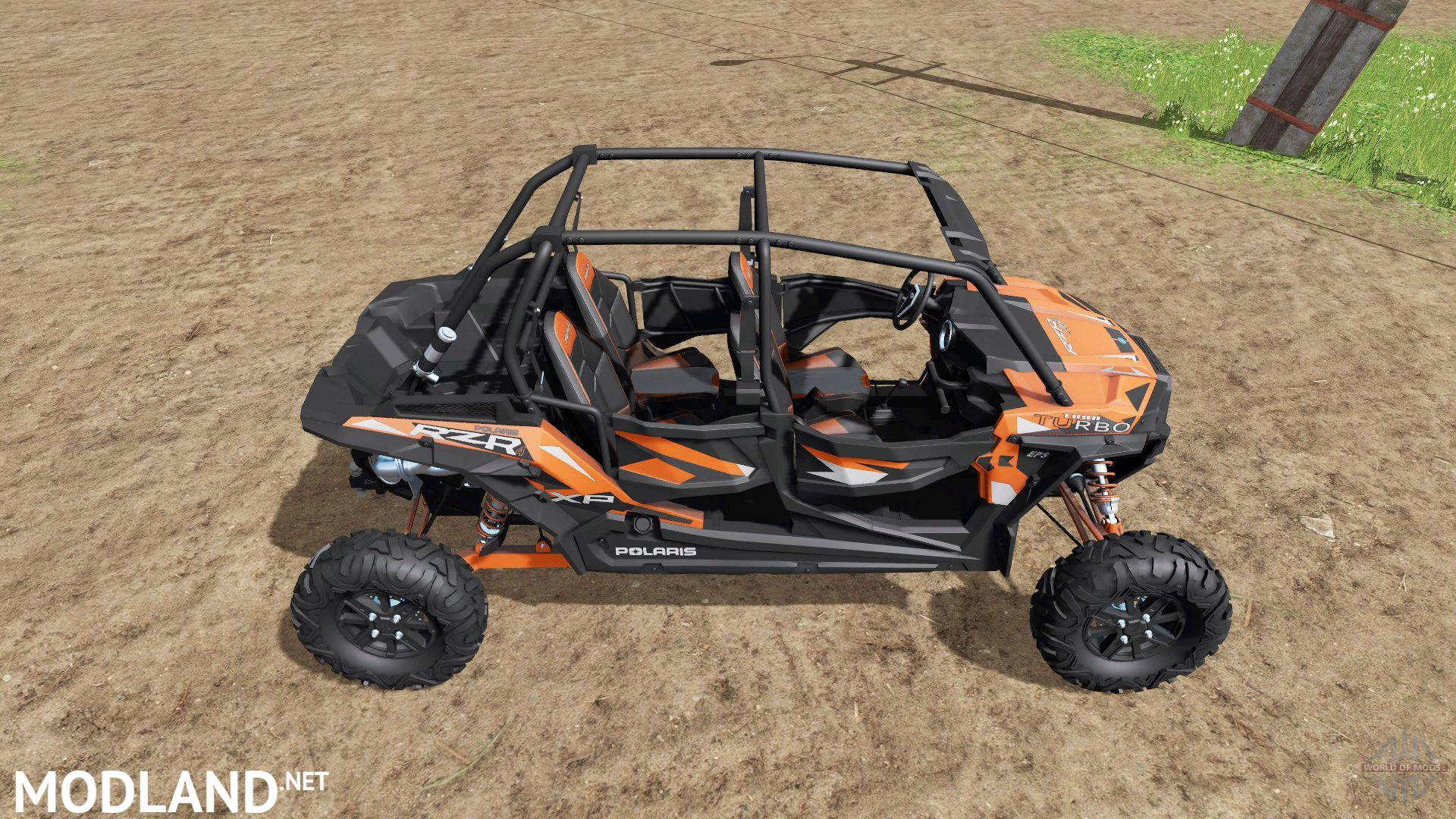 polaris rzr xp 4 1000 turbo eps v 1 0 mod farming simulator 17. Black Bedroom Furniture Sets. Home Design Ideas
