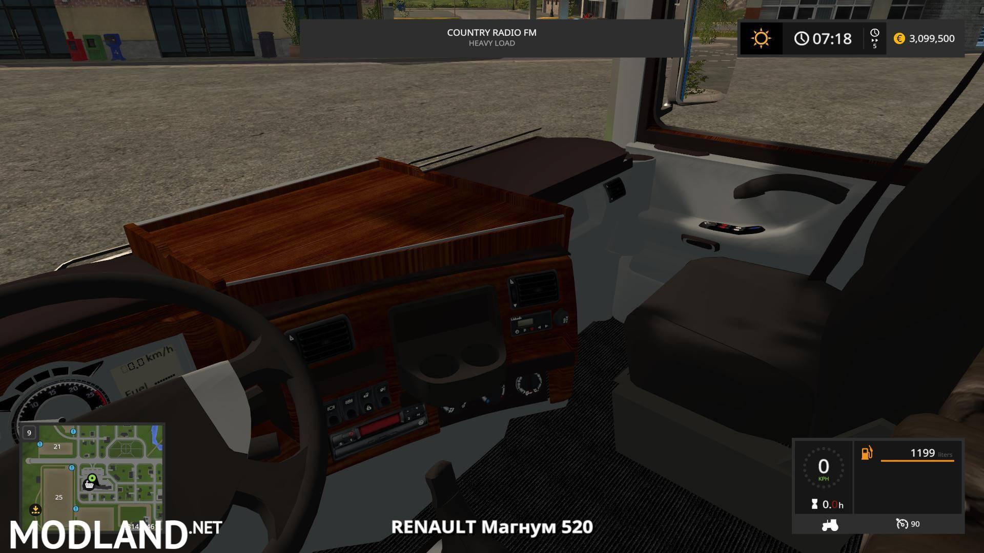 renault magnum integral 520 v 1 0 mod farming simulator 17. Black Bedroom Furniture Sets. Home Design Ideas