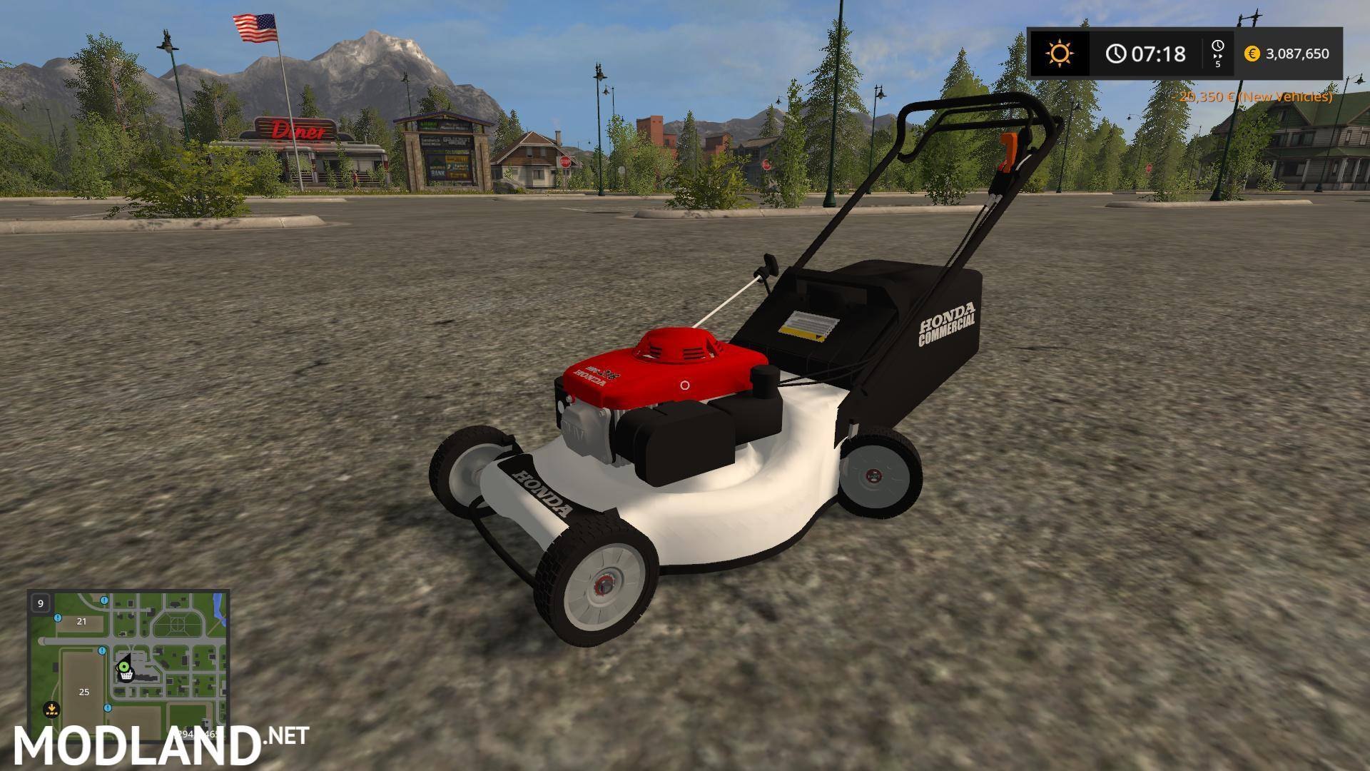 Replay Gamingu0027s Honda Push Mower V 1.0, ...