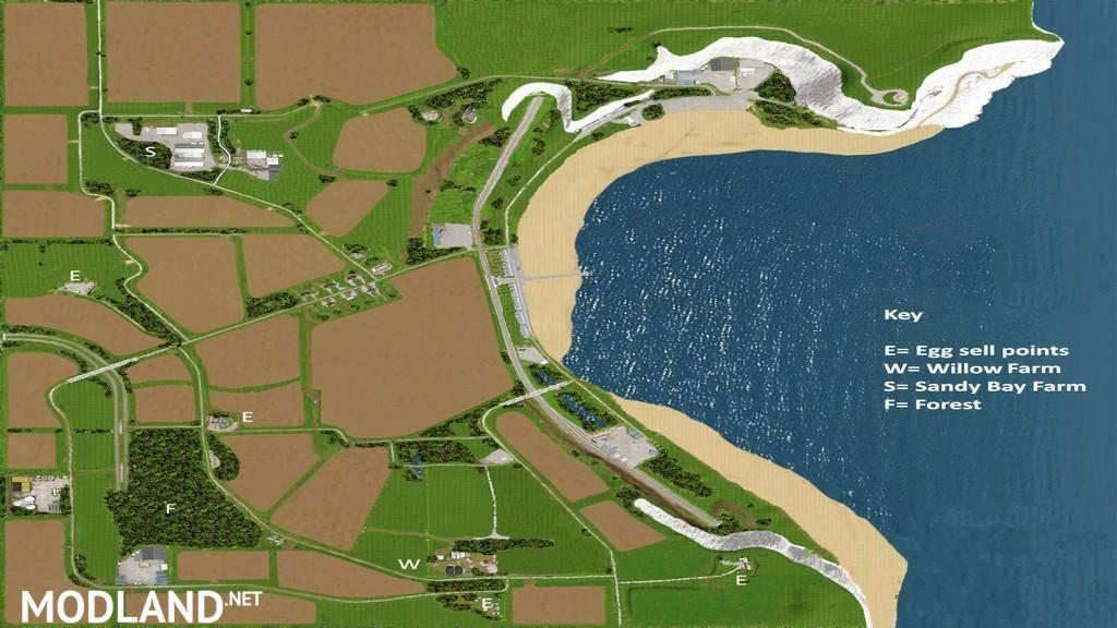 Canadian Map Farming Simulator 2015%0A Sandy Bay Map v