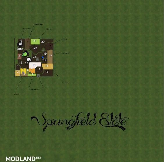 Springfield estate map v 2 0 0 1 mod farming simulator 17