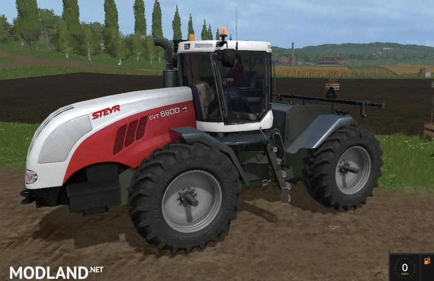Steyr 6600 cvt v 10 mod Farming Simulator 17