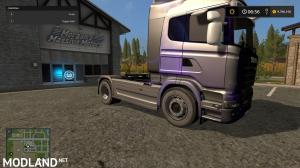 Scania R730 Purple