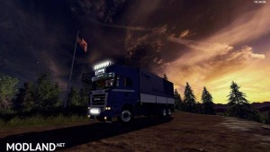 3-axle Scania R730 with crown design v 1.0, 2 photo