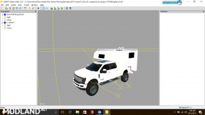 Ford F350 King Ranch with camper, 1 photo