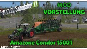 Amazone Condor 15001 (Multifruit & Direktsaat) v 1.1.0.1