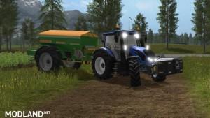 Amazone Fertilizer Sprayer ModPack v 1.0 Orange