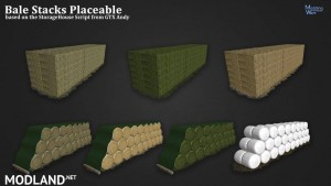 Bale Stacks Placeable v 1.0, 1 photo