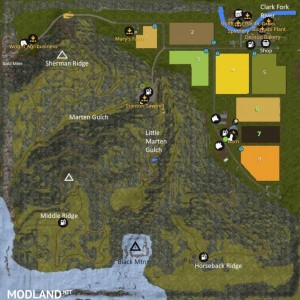 Black Mountain Montana Map v 1.0, 1 photo