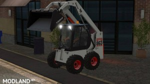 Bobcat 863 Turbo With Bobcat Shovel v 1.0, 2 photo