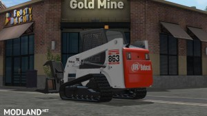 Bobcat 863 Turbo With Bobcat Shovel v 1.0, 3 photo