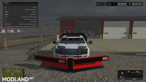 Boss snow plow v 0.1, 1 photo