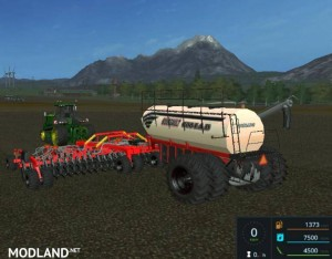 Bourgault IADS direct drilling machine with fertilization v 1.1, 2 photo