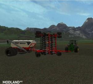 Bourgault IADS direct drilling machine with fertilization v 1.1, 3 photo