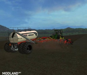Bourgault IADS direct drilling machine with fertilization v 1.1, 5 photo