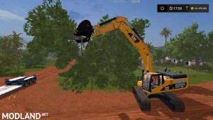 Cat 345D Bucket With Thumb v 1.0, 1 photo