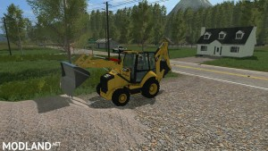 Caterpillar 420F Backhoe v 1.0, 6 photo