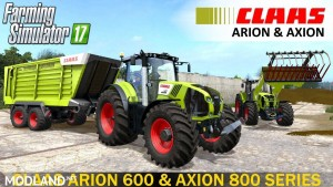 Claas Arion 600 & Axion 800 Series v 1.1