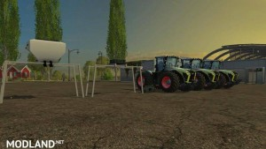 Claas Xerion 4000, 4500, 5000 v 1.0