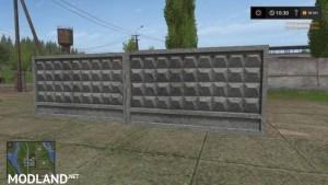 Concrete Fence Beta, 1 photo