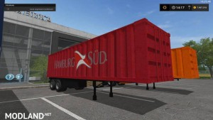 Container Trailer Pack v 1.0 Washable, 6 photo