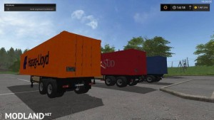 Container Trailer Pack v 1.0 Washable, 8 photo