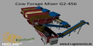 Cow Forage Mixer G2-456 v 1.0, 1 photo