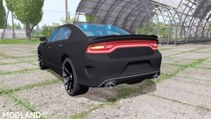 Dodge Charger SRT Hellcat 2015 Unmarked Police v 1.0, 3 photo