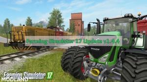 Farming Simulator 17 Update v 1.4.4