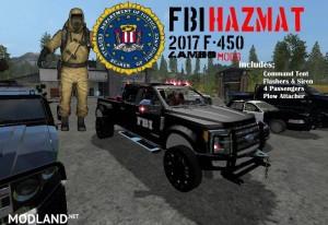 FBI HAZMAT F-450 Truck v 1.0