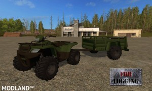 FDR Logging - ATV + ATV Trailer v 1.0, 1 photo