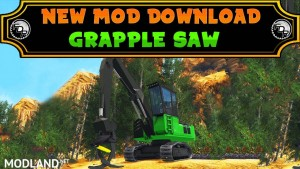 FDR Logging - Grapple Saw Loader v 1.0, 1 photo
