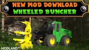 FDR Logging - Wheeled Feller Buncher v 1.0, 1 photo