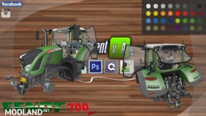 Fendt Vario 700 Package v1.0 BETA, 1 photo